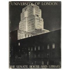 """""""University of London The Senate House and Library"""" Book"""