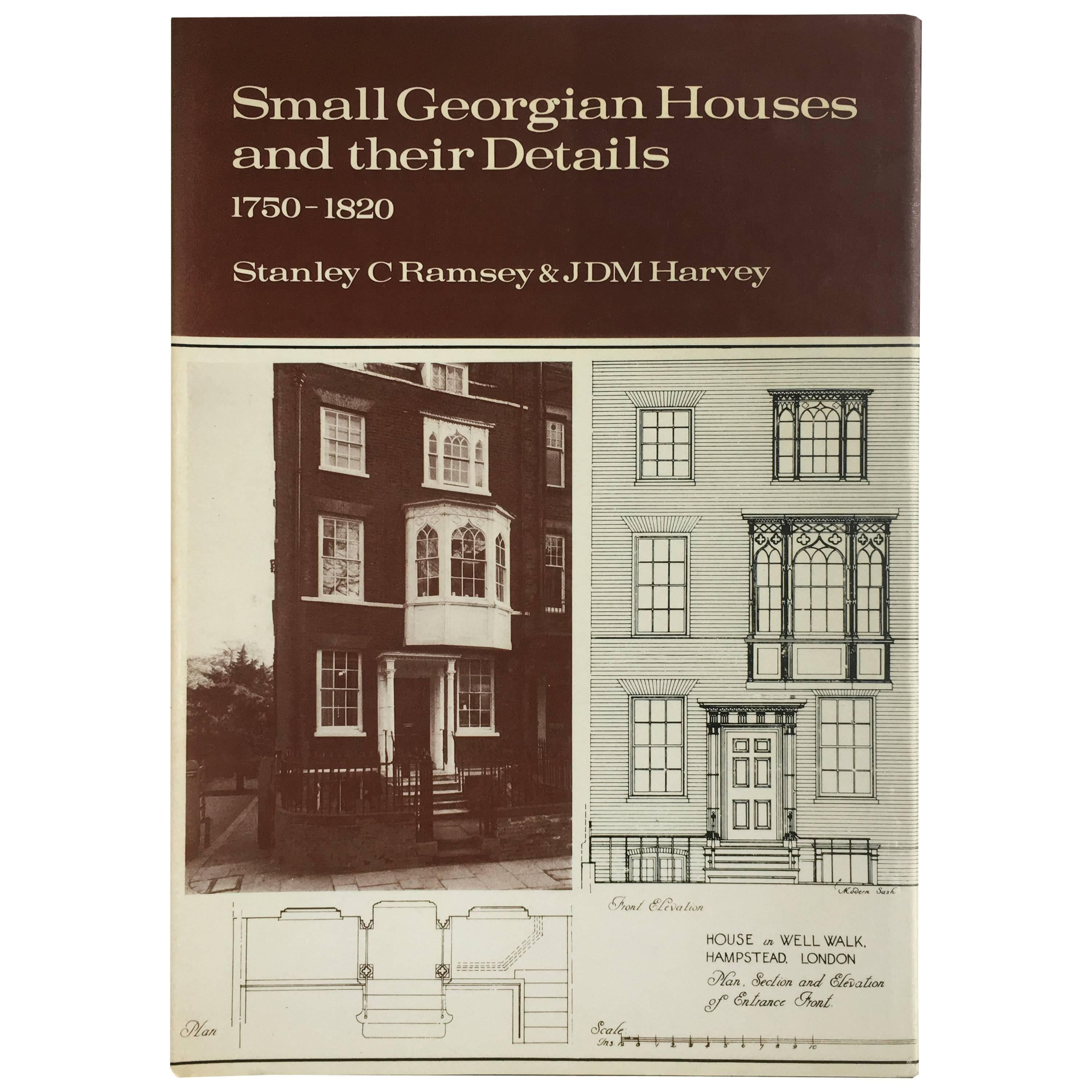 Small Georgian Houses And Their Details Book 1750 1820 For Sale At 1stdibs