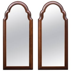 Pair of Walnut Mirrors by Century Furniture Reproduction Henry Ford Museum