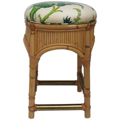 Bamboo Counter Stool by Henry Olka for Willow and Reed