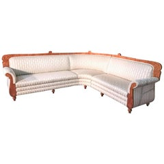 Antique 1840s, Swedish Biedermeier Sofa