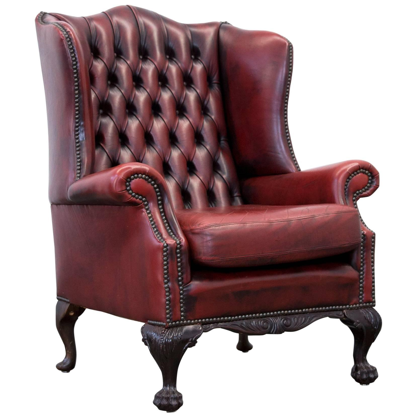 Superior Chesterfield Wingback Chairs