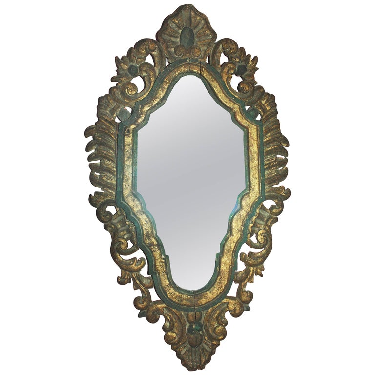 Italian Baroque Venetian Mirror For Sale