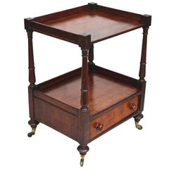 Regency 'Short' Dumbwaiter Table
