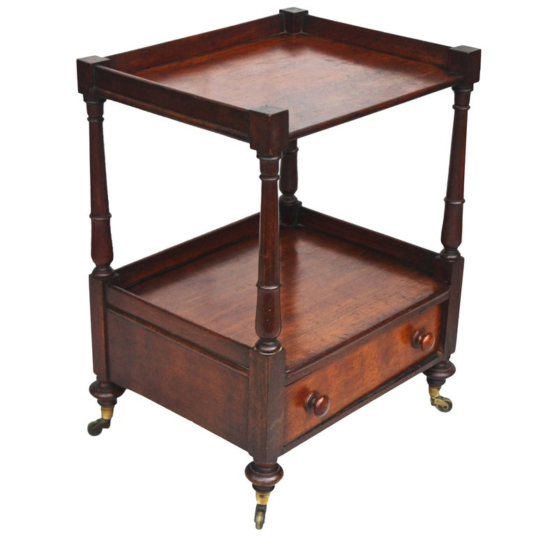 Regency 'Short' Dumbwaiter Table 1