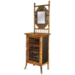 19th Century English Japonisme Bamboo Side Cabinet