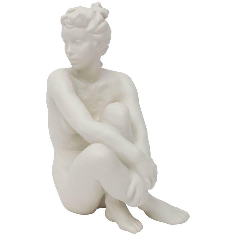 Figurine Sculpture of a Nude Female