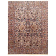 Antique Caucasian Decorative Rug