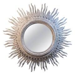 Glass Sunburst Mirrors