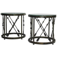 Pair of Neoclassical Style End Table