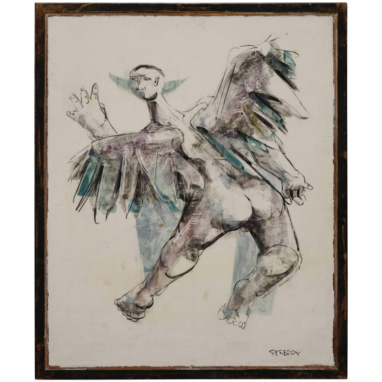 """Icarus"" in the Imagination of Walter Peregoy"