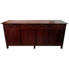 Late 19th Century English Mahogany Dresser