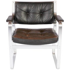 """Midcentury """"Mondo"""" Chair by Karl Erik Ekselius for Joc Vetlanda"""
