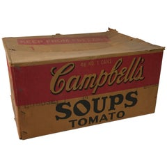 1950s Campbell's Tomato Soups Advertising Box