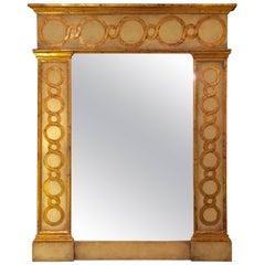 Sensational Monumental Niermann Weeks Italian Florentine Style Mirror
