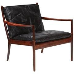 Ib Kofod-Larsen 'Samso' Rosewood Lounge Chair, circa 1960s