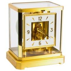 Vintage Atmos Jaeger le Coultre Mantle Clock, Late 20th Century