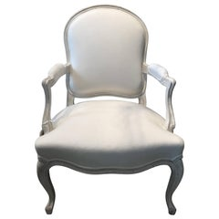 "French ""Dubarry"" Fauteuil Armchair"