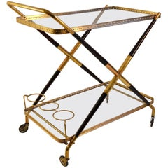 Bar Cart by Cesare Lacca, Italy, 1950s