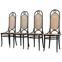 """Four Thonet """"207R"""" Chairs"""