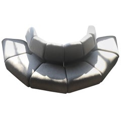 Don Chadwick for Herman Miller Round Half Circle Inverted Sectional Sofa