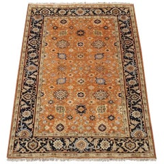Vegetable Dyed Mahal Sultanabad Area Rug