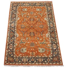 Vegetable Dyed Mahal Style Rug