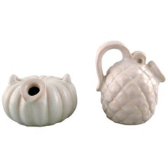 Michael Andersen, Two Ceramic Vases or Pots, 1950s-1960s
