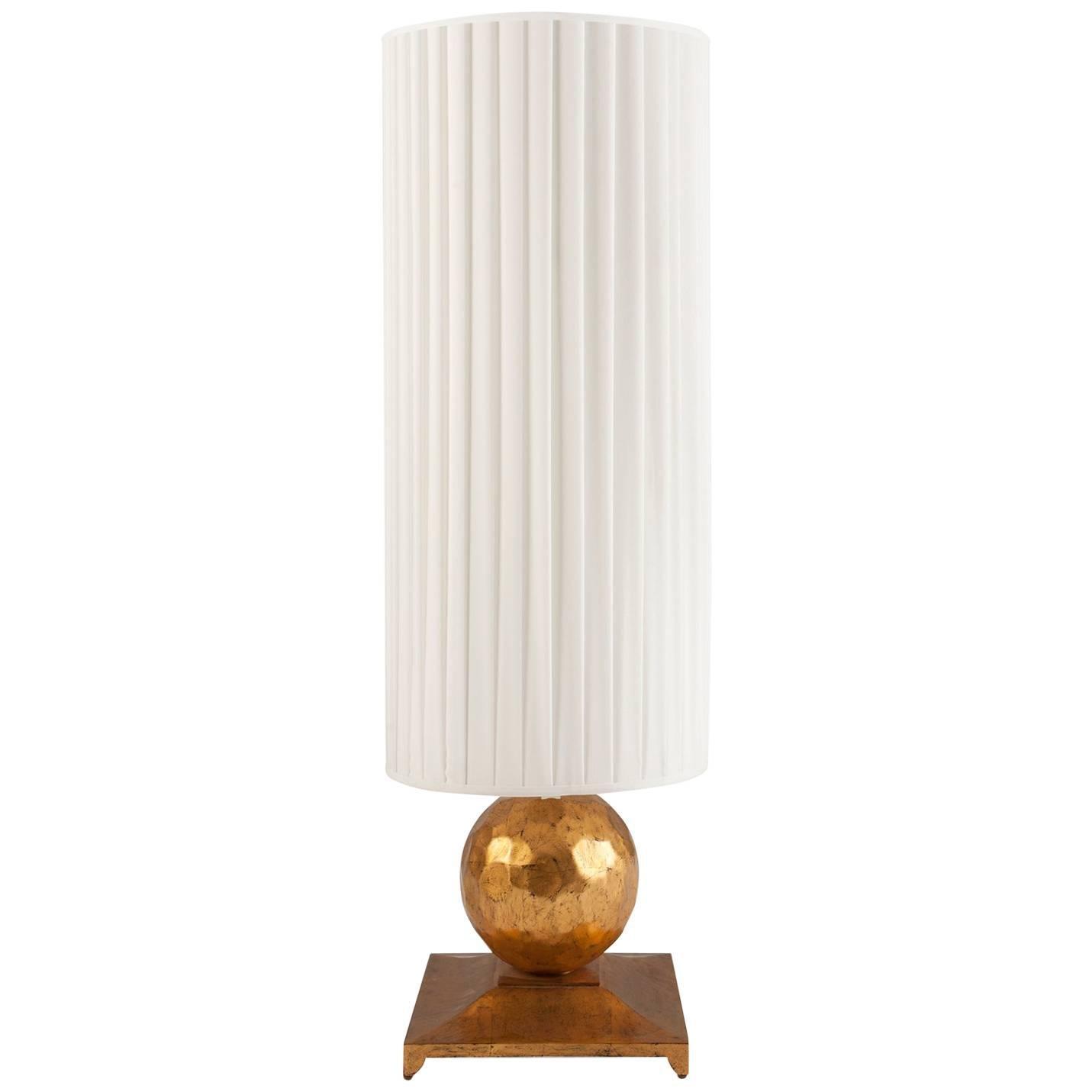 Turner Table Lamp in Oro Nero Gold Finish