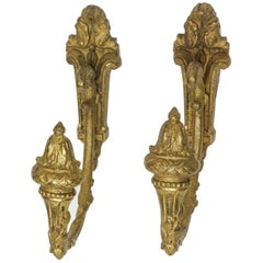 Bronze Curtain Supports or  Tiebacks