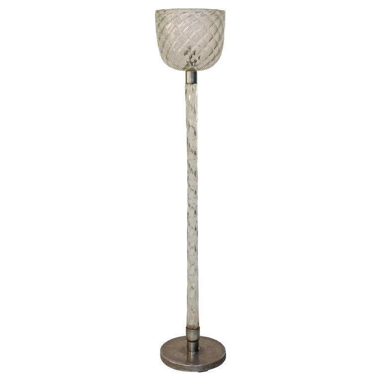 Spectacular murano italy 1930s floor lamp for sale at 1stdibs for 1930s floor lamp