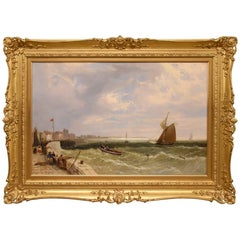 """""""A Kentish Harbour"""" by James Meadows"""