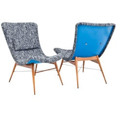 Lounge Chairs by Miroslav Navrátil for Ceský Nábytek, Czechoslovakia, 1960s