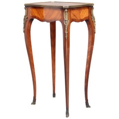 19th Century French Kingwood Side Table