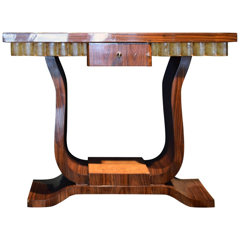 Unique art deco console french style side table for sale for Unique console tables for sale