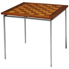 Chess Table Designed by Knud Joos, Denmark, 1960s