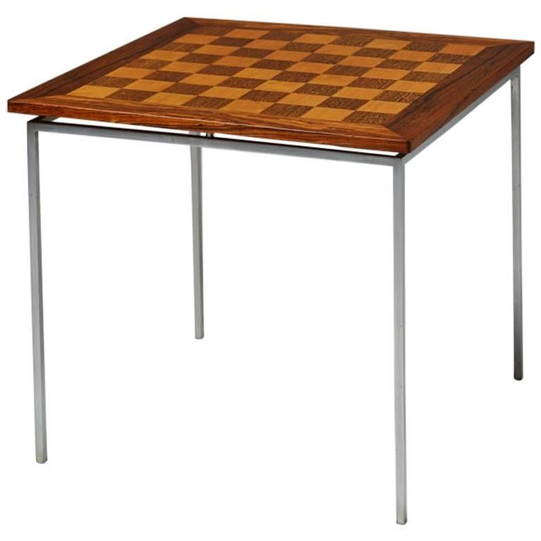 Chess Table Designed by Knud Joos, Denmark, 1960s