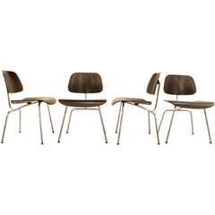 Set of Four DCM Chairs by Eames