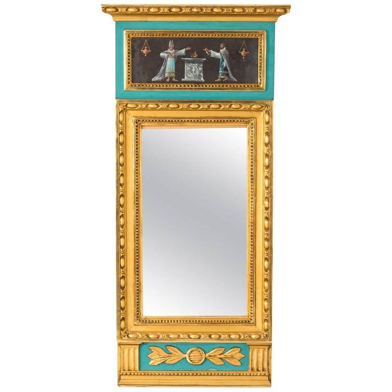 19th Century Gilded Gustavian Mirror