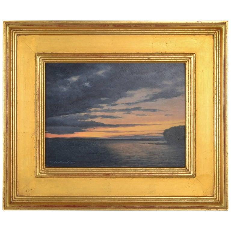Michael John Mariano (B.1947) Framed Oil on Board