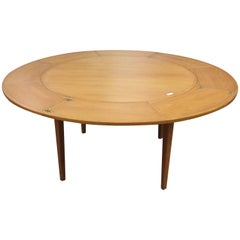 Kofoed Teak Flip Flap Dining Table from Denmark