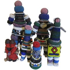 Collection of Ndebele Fertility Dolls