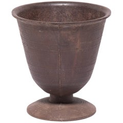 Chinese Cast Iron Apothecary Mortar