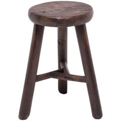 Chinese Primitive Three Leg Stool