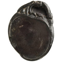 Chinese Peach Form Inkstone