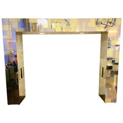 Paul Evans Cityscape Series Illuminated Headboard