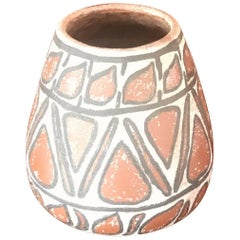 Mid-Century Modern Ceramic Pot Pottery Vase Vintage