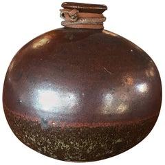 Ceramic Midcentury Weed Pot Pottery Vintage Vase