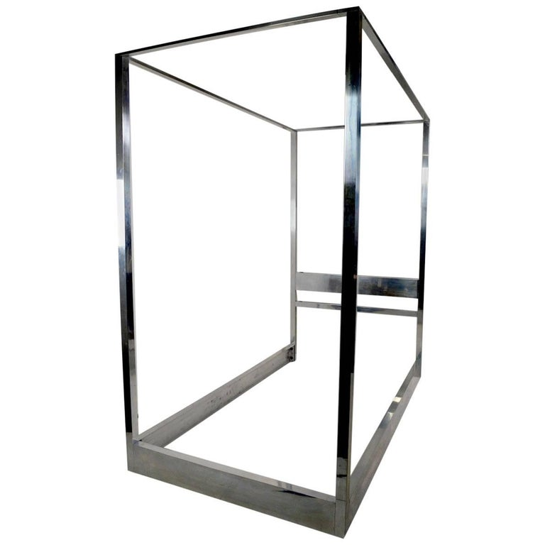 Aluminum Canopy Tester Bed For Sale At 1stdibs