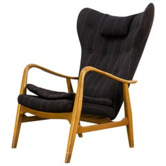 1950s Madsen & Schubell Lounge Chair Fauteuil for Vik and Blindheim